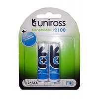 Uniross 2100 MAh Ni-Mh AA Rechargeable Battery
