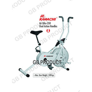 KAMACHI EXERCISE CYCLE AIR BIKE 350 DUAL ACTION