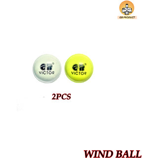 GB PRODUCT Wind Cricket Ball ( 2 PCS )