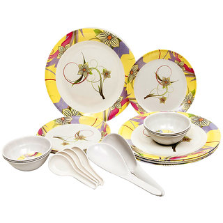 24 Pcs. Melamine Dinner Set