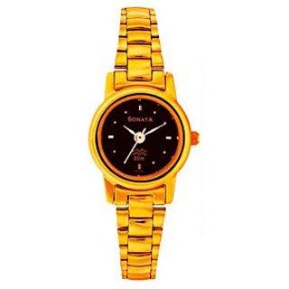 Sonata 8097YM03 Analog Watch For Women's