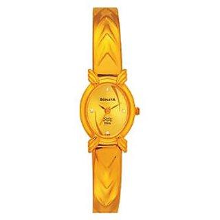 Sonata 2120YM07 Analog Watch For Women's