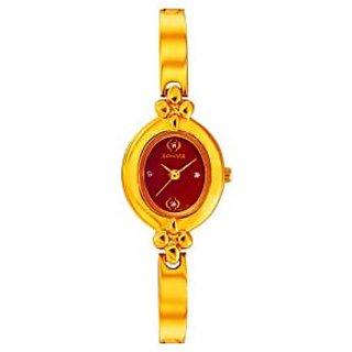 Sonata 8093YM02 Analog Watch For Women's