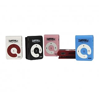 2 in 1 MP3 media player + Card reader Zebronics Node + 32 GB Expandable Memory
