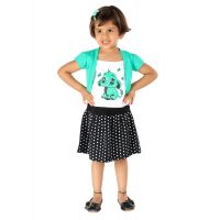 Lil-Orchids-Girls-Printed-Casual-Dress-LO-028-GREEN
