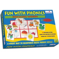 Fun With Phonics-Rhyming Words