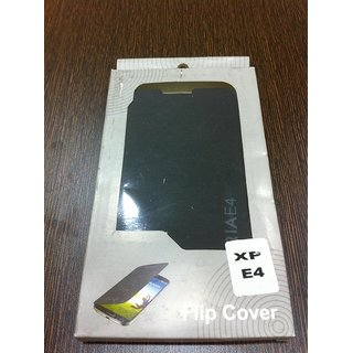 Sony Xperia E4  E4 Dual Leather Folio Flip Flap Cover Case Battery Back Case