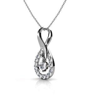 Zevrr Sterling Silver Pendant Made With Swarocski Zirconia (Pzsp03157)