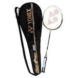Yonex Muscle Power 3 Strung Badminton Racquet + Python Sports Jump Rope Free