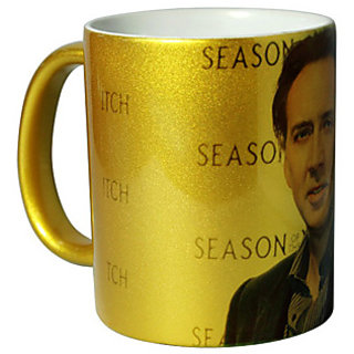 Golden Personalized Mug