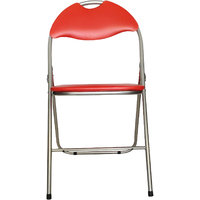 Mavi Attractive Red Color Kids Leatherite Chair- MCS-234R