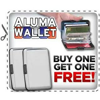 2Aluma Wallet For Your Important Cards