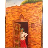 Lady At The Door