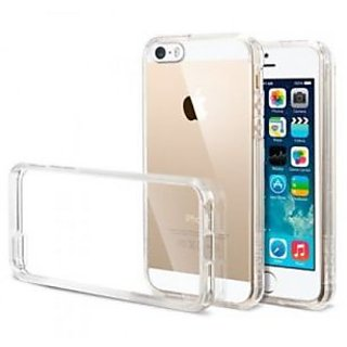 GRIPIT Crystal Clear TPU Back Case For Apple iPhone 4/4S (Transparent)