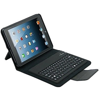 Callmate Bluetooth Keyboard With Leather Case for iPad Air - Black