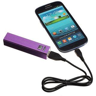 Callmate Power Bank Metal 2600 mAH - Purple