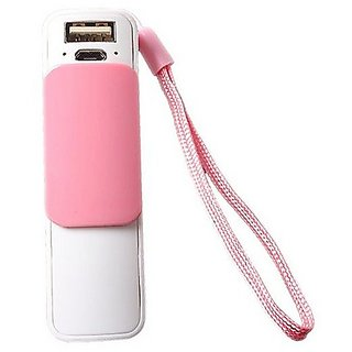 Callmate Power Bank Slider 2800 mAH - Light Pink