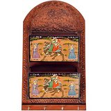 Compare Jaipuri Antique Looking Hand Painted Fine Wooden Letter and Key Holder at Compare Hatke