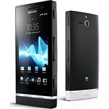 SONY XPERIA ST25 - SONY XPERIA U BLACK FLIPCOVER & SCREEN GUARD COMBO