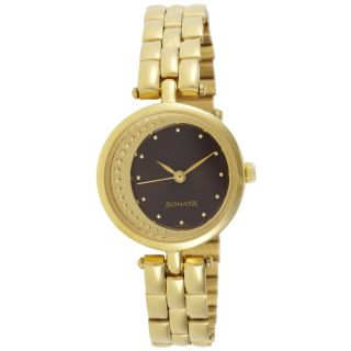 Sonata Women Stylish Watch - 8075YM03