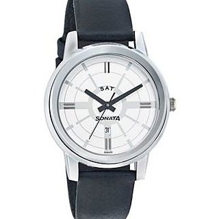 Sonata Men Stylish Watch - 7097SL02
