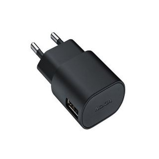 Nokia AC-60 Universal Fast USB Charger (Black)