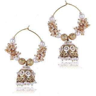 Shining Diva Jhumki Style Earrings (6573er) (6573er)
