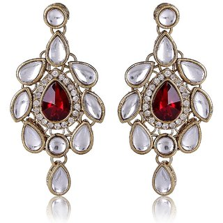 Shining Diva Kundan Earrings (6622er)