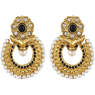 Shining Diva Gold Plated Chandbali Earrings (6794er)