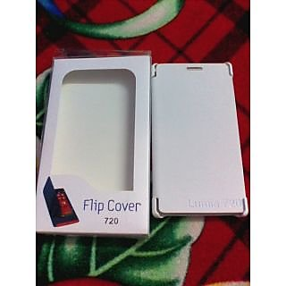 Flip cover for nokia lumia 720 in white colour available at ShopClues for Rs.150