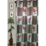 JBG Home Store Set Of 2 Elegant Floral Print Designer Curtain(9 Ft)(Set Of 2)