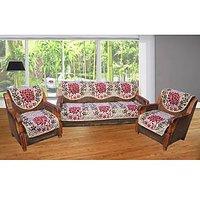 JBG Home Store Delight Muticolor Sofa Cover Set ( Set Of 10) Design 2