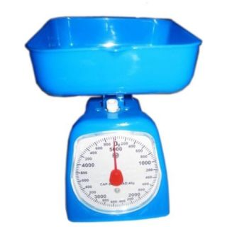 Kitchen Food Weighing Analog Scale Balance Meter Measure Weight 5kg Gift Her Best Deals With