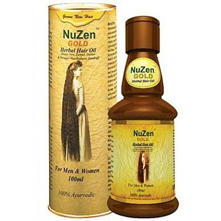 Nuzen gold herbal hair oil 100ml available at shopclues