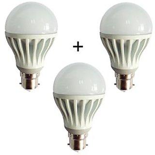 Combo of 7W LED Bulbs(Set of 3 Bulbs)