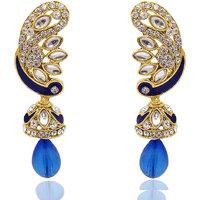 Kriaa Exclusive Blue Drop Earrings 1304806