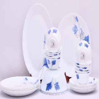 Larah 27 Pcs Dinner Set Fluted Ageria