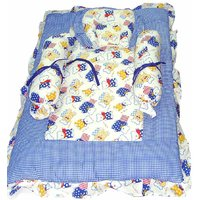 5 Piece Winter Quilt Set for Kids
