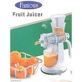 Famous Manual  Fruit & Vegetable Juicer Instant Juicer