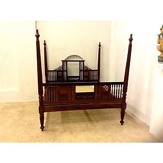 Antique Furniture In India Ood Four Posted Cot For Sale In Kerala