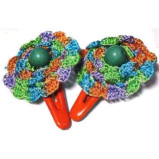 Stylish Crochet Tic Tac Pins - Design  11