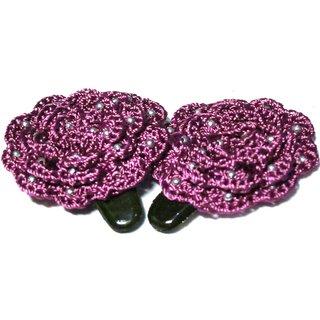 Stylish Crochet Tic Tac Pins - Design  14