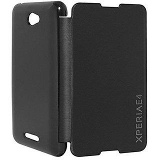 Ready flip cover for sony xperia E 4-Black