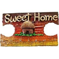 Key Holder - Sweet Home - Textured - Unique Arts