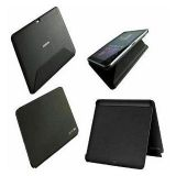 Samsung Galaxy Tab 2 7.0 Book Flip Case Cover Stand P3100 P3110 Black En