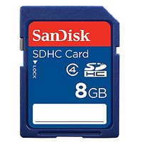 SanDisk 8GB SD Memory Card 8GB SDHC