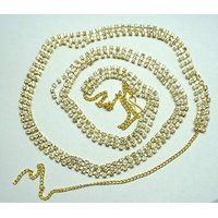 Aria Wedding collection CZ gold plated jewellery saree waist belt b33
