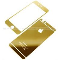 Golden 2.5D Tempered Glass For Iphone 6 Front &Back