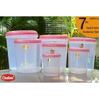 CHETAN 7 PC SET,KITCHEN STORAGE CONTAINERS @ RPS.1099/- ONLY FREE DELIVERY.