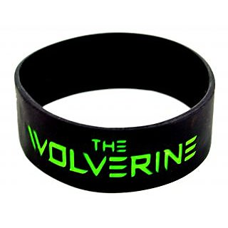 Mahna The Wolverine Engraved Wrist Band